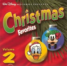 Walt Disney's CHRISTMAS FAVORITES Vol. 2 Vintage 1999 Disney Holiday Music OOP