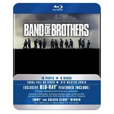 Band of Brothers 5051892020268 With Dexter Fletcher Blu-ray / Tin Case Region 2