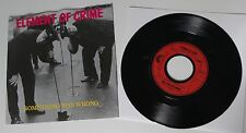 "ELEMENT OF CRIME - Something Was Wrong 7"" 2-Tracks *RAR*"