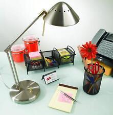 Tensor Halogen Desk Lamp, Brushed Steel, Dimmer Light, 16534-001, 50 Watt