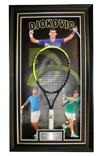 Novak Djokovic Signed Tennis Racquet