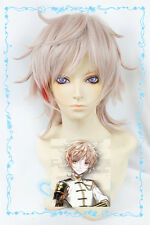 657 Touken Ranbu The Sword Dance Monoyoshi Sadamune Layered Pink mix Cosplay Wig