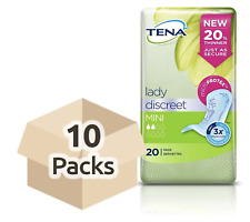 TENA Lady Protection Mini Discreet 10 x 20 Pads