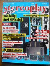 STEREOPLAY 10/88 YAMAHA CX MX 50,nad 7240 PE, SANSUI AU 1000, McIntosh Mac 4300 V
