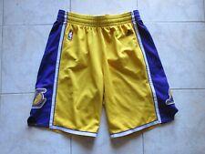 Short basket LOS ANGELES LAKERS ADIDAS NBA jaune violet XL