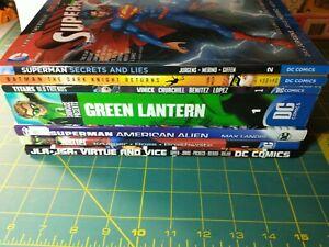 DC Comics TPB Lot 6 Batman Dark Knight Superman Green Lantern JLA inc hardcover