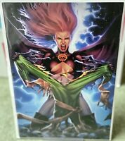 HELLIONS #3 JAY ANACLETO Exclusive Virgin Green Variant *NM* Sold Out!!!