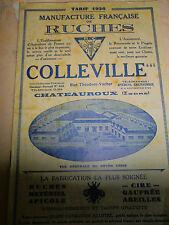catalogue de ruches - abeilles - année 1936 ( réf 10 )