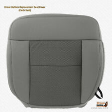 2004 - 2006 Ford F150 XLT Driver Bottom Replacement Flint Gray Cloth Seat Cover