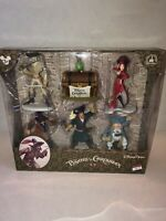 NIB Disney Parks PIRATES OF THE CARIBBEAN Playset 6 Piece Authentic Original NEW