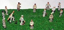 Cricket Game People A76 UNPAINTED N Gauge Scale Langley Model Kit Figures Metal
