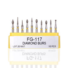 1 Set Dental Composite Repair Handpiece Diamond Burs Air Turbine Kit FG-117