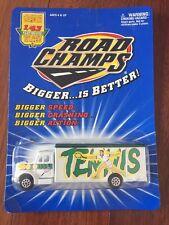 Road Champs Cargo Transporter Truck Tennis Bigger Is Better 1/43 Rare White New