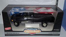 1/18 ERTL AMERICAN MUSCLE 1995 DODGE RAM 2500 SLT BLACK od
