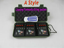 12 Cues Wireless Fireworks Firing control system equipment Remote 12pcs Igniter