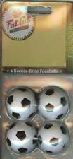 4 Pack Fat Cat Soccer-Style Foosballs Foos Ball 35mm.
