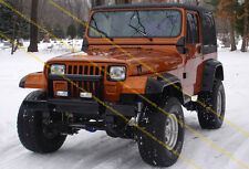 JEEP WRANGLER YJ FENDER FLARES 6 INCHES / ARCH EXTENSIONS