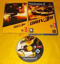 DRIV3R Ps2 Driver 3 Versione Inglese Gioco in Italiano ○○○○ COMPLETO