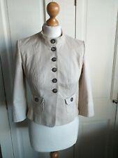 Karen Millen Smart Cream Tailored Jacket Size 10