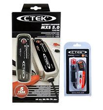 Chargeur CTEK MXS 5.0 12V 5A dernier modèle ctek  + COMFORT CONNECT CIG PLUG