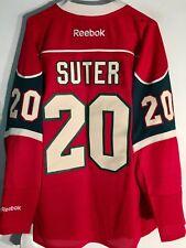 Reebok Premier NHL Jersey Minnesota Wild Ryan Suter Red sz L