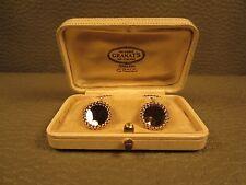 Tiffany Art Deco 14kt Gold Cuff Links Circa 1925 in Original Box