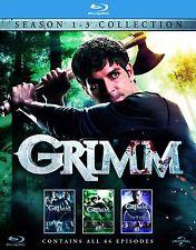 Grimm Complete Collection Series 1-3 Blu Ray Boxset Grim Season 1 2 3 UK New R2