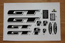 Reproduction 1997 GT Vertigo BMX Decal Set - For Painted Frame