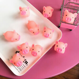 1PCS Funny Pink Pig Mochi Squeeze Healing Stress Reliever Joke Kids Toys Gift
