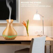 Aromatherapy Essential Oil Diffuser Humidifier Purifier Mist Maker Air 400ml
