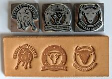 GENUINE LEATHER STAMPS. FREE Leather Stamp Clamp with Any 3 Sets of Stamps.