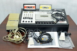 Soviet tape recorder VESNA 201 stereo USSR Russian CCCP Factory complete set