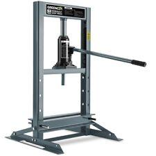 Presse hydraulique robuste 10 Tonnes pression pour garage et atelier -GREENCUT