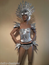 """SEXY MIRROR  HIPS Pieces """"LADY GAGA""""- ROBOT Clothes Brazilian SAMBA Carnival"""