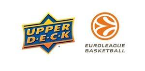 2017-18 Upper Deck Euroleague - Base - High Gloss /20 - Pick Your Card