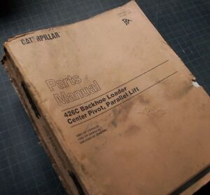 CAT Caterpillar 426C Backhoe Loader Parts Manual Book catalog list SEBP2597 1998