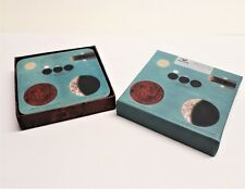 """Magpie """"Moon"""" Set Of 4 Coasters New in Box"""