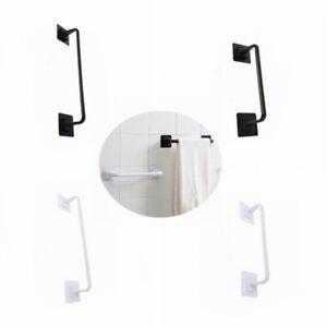 Self Adhesive Wall Mounted Bathroom Towel Rail Holder Storage Rack Shelf