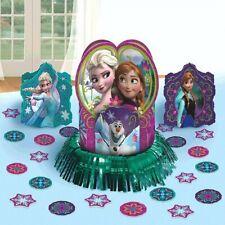 Disney Frozen Table Centerpiece Birthday Party Supplies Decorating Kit Elsa Anna