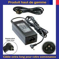 Chargeur d'Alimentation Pour Asus Eee PC 1011CX 1011PX 1015PX 1015B 1015BX