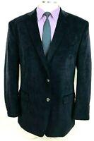 46R NWOT Chaps Ralph Lauren Mens 2 Button Sport Coat Jacket Dark Navy