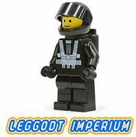LEGO Space Minifigure - Blacktron Astronaut - minifig sp001 vintage FREE POST