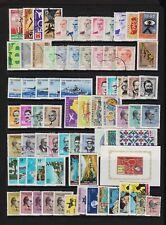 Turkey - 76 stamps