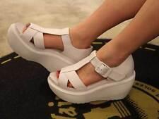Dr. Martens Women`s Adaya Platform Cross Strap Sandal SOFTY  ALL SIZES