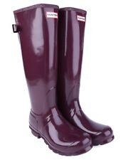Womens Hunter Original Tall Gloss Knee High Rain Boots Size 10