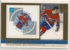 2003 Pacific Canada Post NHL All-Star Game Stamp & Card # 21 Serge Savard