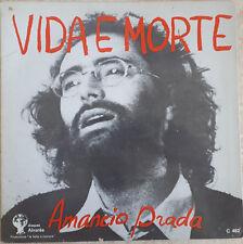 """33T Amancio PRADA Vinyle LP 12"""" VIDA E MORTE - COMO CHOVE MIUDINO - ALVARES 482"""