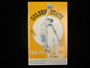 1972-73 Golden State Warriors Basketball Yearbook