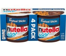 4 Pack Nutella & Go 4-Pack Pretzel FAST SHIPPING