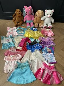Build a bear dress Bundle: Disney Princess Dresses x12 PLUS BEARS & EXTRAS